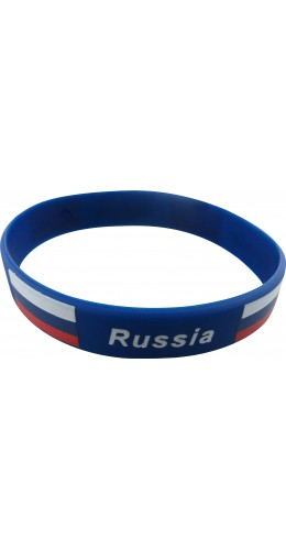 Bracelet silicone Russie