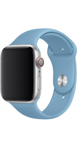 Bracelet sport en silicone bleu clair - Apple Watch 42mm / 44mm