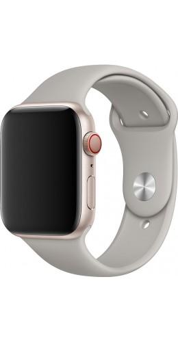 Bracelet sport en silicone gris - Apple Watch 38mm / 40mm