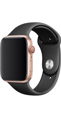 Bracelet sport en silicone gris foncé - Apple Watch 38mm / 40mm