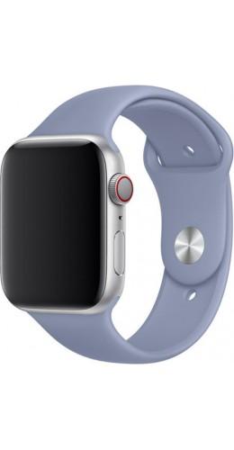 Bracelet sport en silicone lavande - Apple Watch 38mm / 40mm