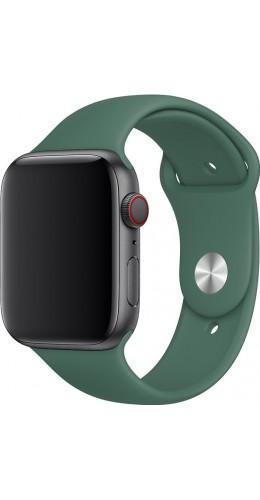 Bracelet sport en silicone vert pétrole - Apple Watch 38mm / 40mm