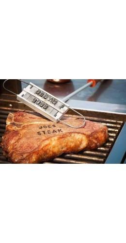 Fer de marquage pour viande Branding Iron BBQ