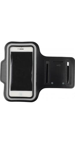 """Brassard de sport noir smartphone 4.7"""" - 5.1"""" (medium)"""