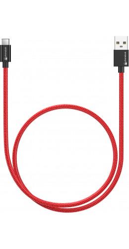 Câble (50cm) USB vers USB-C - Nylon PhoneLook