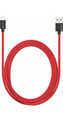 Câble Lightning (1 m) iPhone vers USB - Nylon PhoneLook