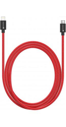 Câble USB-C vers Lightning Fast Charge  (1 m) - Nylon PhoneLook