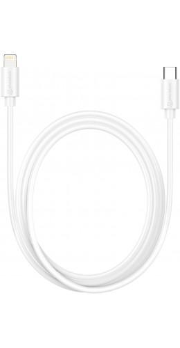 Câble USB-C vers Lightning Fast Charge (1 m) - PhoneLook blanc