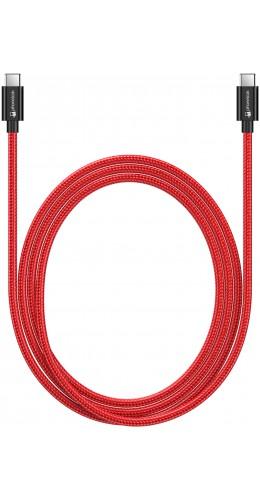 Câble USB-C vers USB-C (1 m) - Nylon PhoneLook