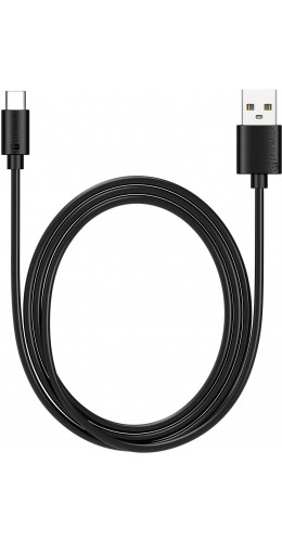 Câble USB Type-C (1 m) noir PhoneLook noir