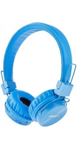 Casque Bluetooth NIA X3 bleu