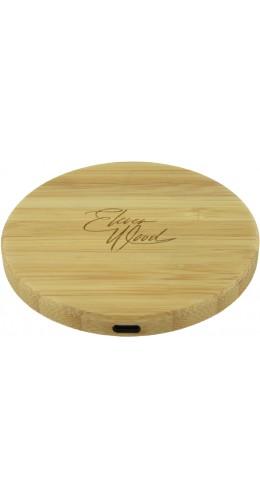 Chargeur sans-fil 10W Fast Charge en bois véritable Eleven Wood Bamboo