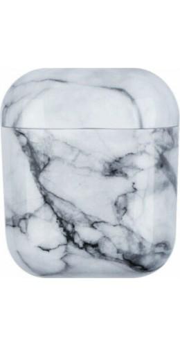Coque AirPods 1 / 2 - Marble blanc A