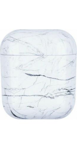 Coque AirPods 1 / 2 - Marble blanc B