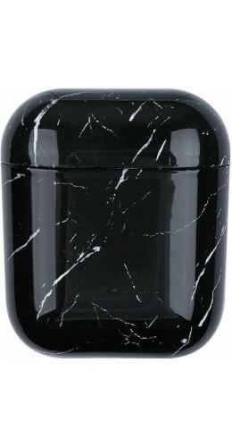 Coque AirPods 1 / 2 - Marble noir B