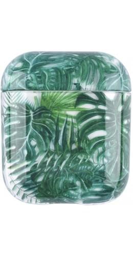 Coque AirPods 1 / 2 - Plastique transparent feuilles