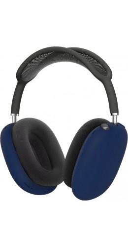 Coque AirPods Max - Silicone souple flexible - Bleu