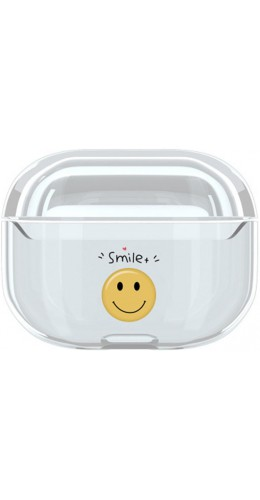 Coque AirPods Pro - Plastique transparent Smile