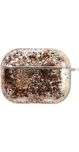 Coque AirPods Pro - Water Stars & Strass or