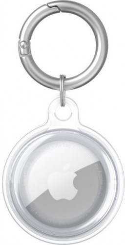AirTag - Porte-clés silicone transparent