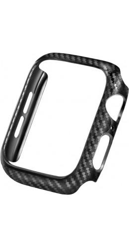 Coque Apple Watch 38mm - Plastique carbone