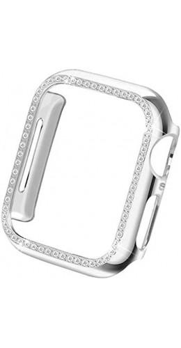 Coque Apple Watch 40mm - Strass argent