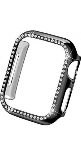 Coque Apple Watch 40mm - Strass noir