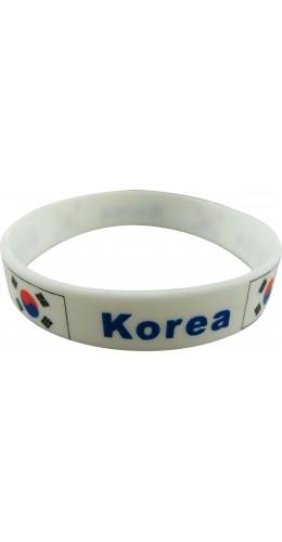 Bracelet silicone Corée
