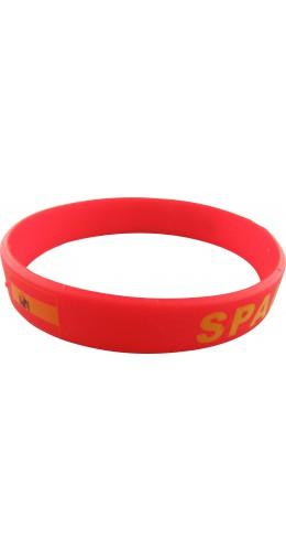 Bracelet silicone Espagne