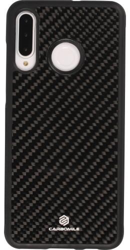 Coque Huawei P30 Lite - Carbomile fibre de carbone