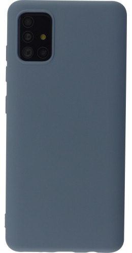 Coque Samsung Galaxy A52 - Soft Touch gris