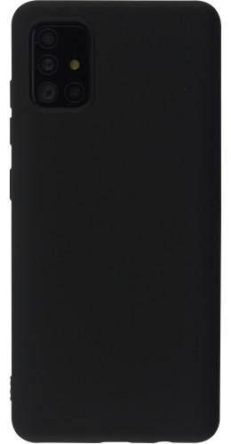 Coque Samsung Galaxy A52 - Soft Touch noir