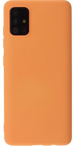 Coque Samsung Galaxy A52 - Soft Touch orange