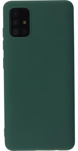 Coque Samsung Galaxy A52 - Soft Touch pétrole