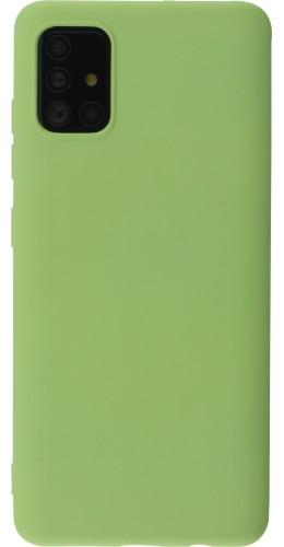Coque Samsung Galaxy A52 - Soft Touch vert clair