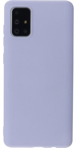 Coque Samsung Galaxy A71 - Soft Touch violet