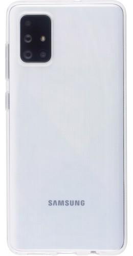 Coque Samsung Galaxy A71 - Gel transparent Silicone Super Clear flexible