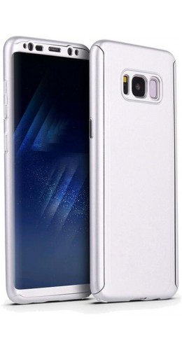 Coque Samsung Galaxy S10e - 360° Full Body argent