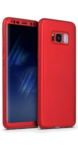 Coque Samsung Galaxy S10e - 360° Full Body rouge