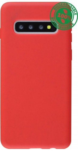 Coque Samsung Galaxy S10+ - Bio Eco-Friendly rouge