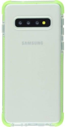 Coque Samsung Galaxy S10e - Bumper Stripes vert