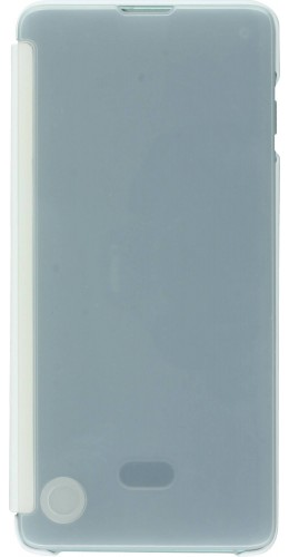 Coque Samsung Galaxy S10e - Clear View Cover transparent