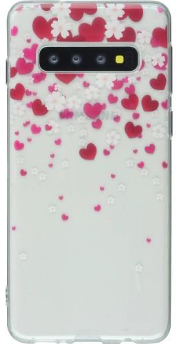 Coque Samsung Galaxy S9+ - Gel coeurs
