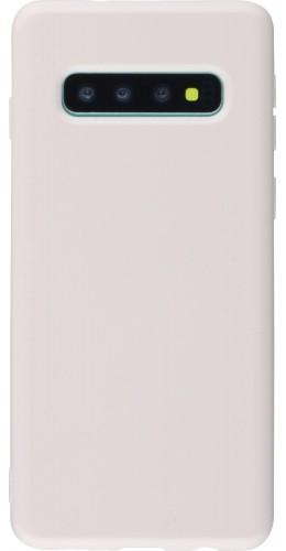 Coque Samsung Galaxy S10 - Gel rose clair