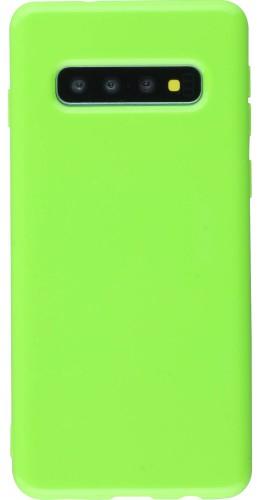 Coque Samsung Galaxy S10+ - Gel vert