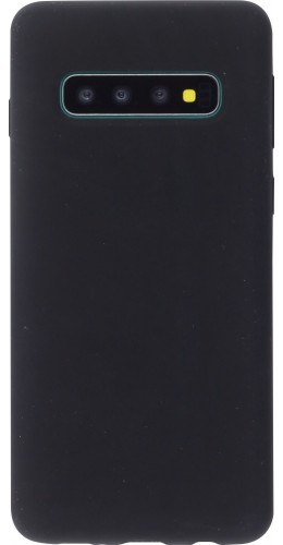 Coque Samsung Galaxy S10 - Soft Touch noir