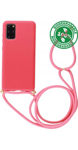 Coque Samsung Galaxy S20 - Bio Eco-Friendly Lacet rouge