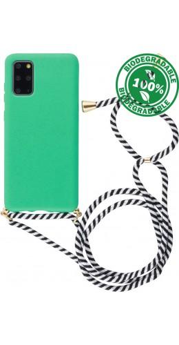 Coque Samsung Galaxy S20 - Bio Eco-Friendly Lacet turquoise