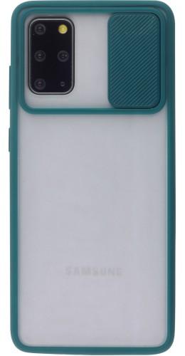 Coque Samsung Galaxy S20+ - Caméra Clapet Blur vert