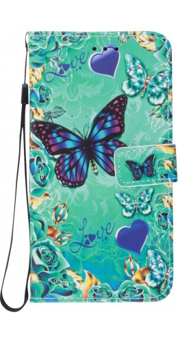 Coque Samsung Galaxy S20+ - Flip Papillon Love